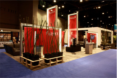 Exhibition stand USA